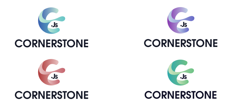 Variations of logo color